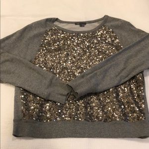 Sequined Vince Pullover